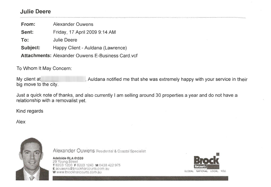 Alexander Ouwens - Brock Harcourts Real Estate